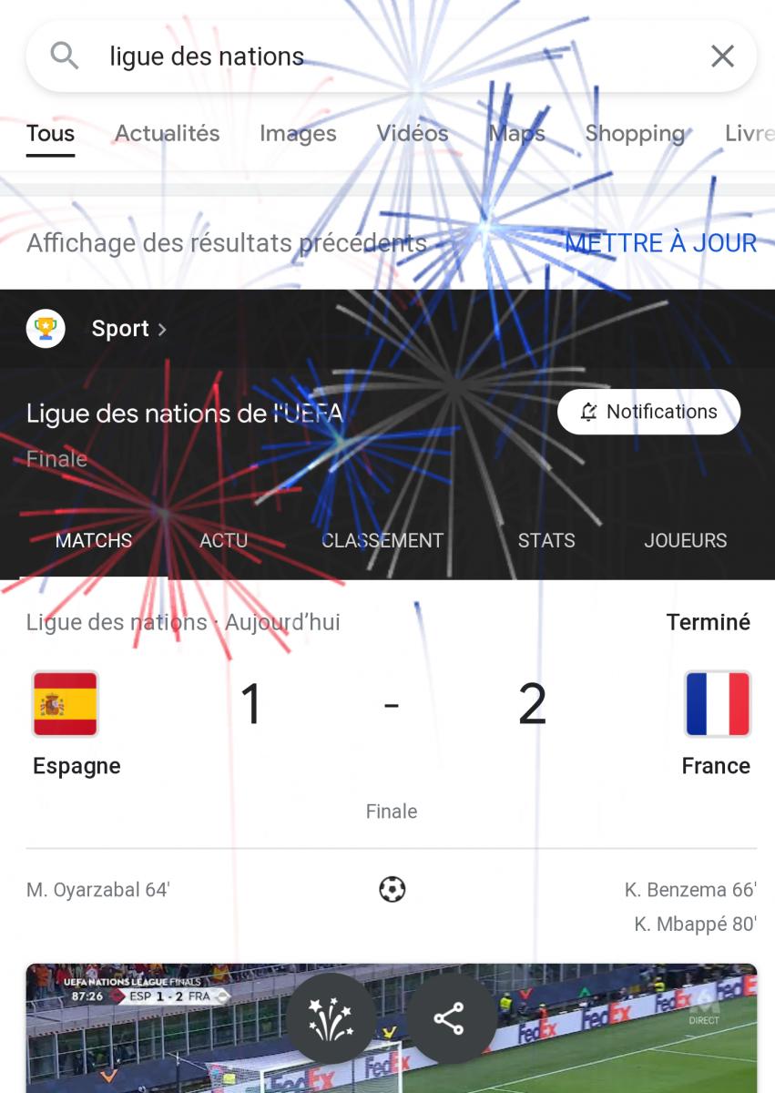 L'équipe de France remporte la Ligue des Nations